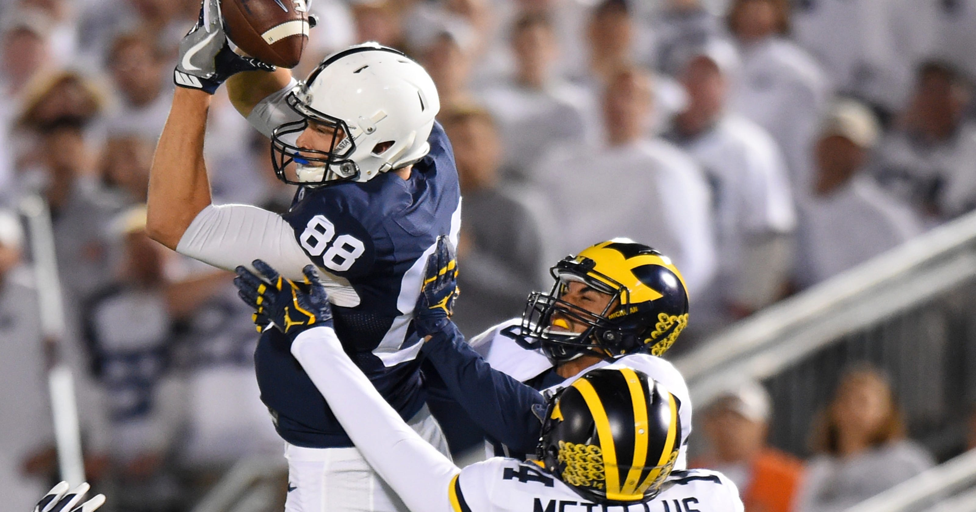 Michigan s defense wilts in loss 43-13 at No. 2 Penn State c9d33688f