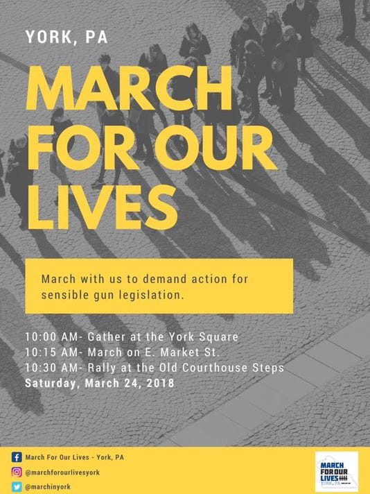 Poster March for Our Lives