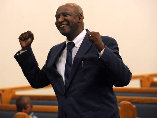 Pastor Manassee Ngendahayo, who immigrated from Rwanda,
