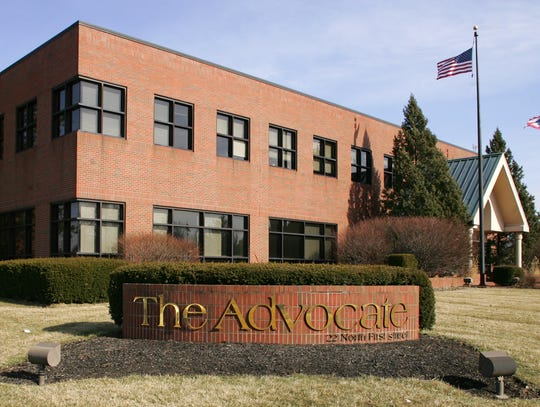 The Advocate building, where yes, we still work every day.