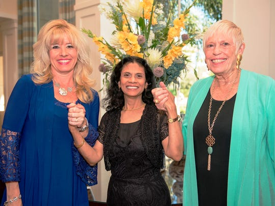 Amy Bromhead with Luncheon co-chairs Gytha Von Aldenbruck and Rita May Wright