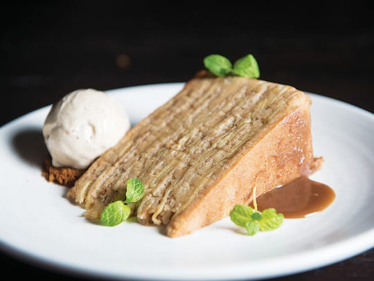 13 Layer American Apple Cake at The Cassidy Bar + Kitchen