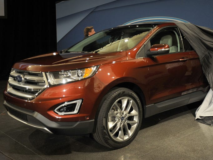 The Ford Edge.
