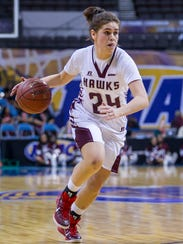 Moengaroa Subritzky during the 2015 MEAC Women's Basketball