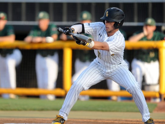 Southern Miss' Mason Irby hit .338 in 2017.