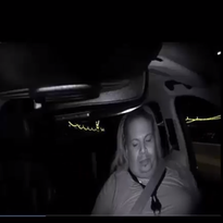 Video shows Uber operator moments before self-driving car crash that killed pedestrian