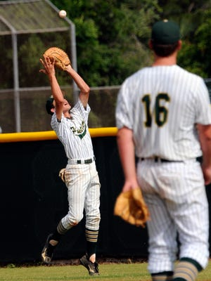 Melbourne Central Catholic's Nick Durgin, left, was voted FLORIDA TODAY's Community Credit Union Athlete of the Week.