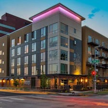 The Logan apartment complex sold for $15.5 million.