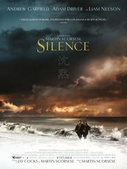 """The poster for """"Silence."""""""