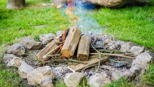 Campfires are fun for the family, but safety tips need to be followed.
