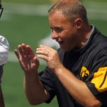At BTN Tour stop, Iowa football's physicality, depth on display