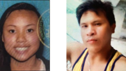 A search is underway for Rachel Nguyen and Joseph Orbeso who have been missing since Thursday.