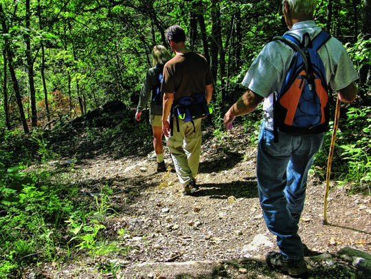 Busiek State Forest and Wildlife Area offers 18 miles
