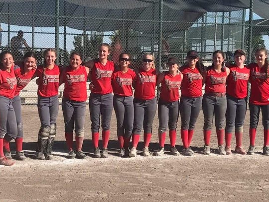 The Diamond Dusters 12-and-under team won a National Softball Association A Division state title over the weekend.