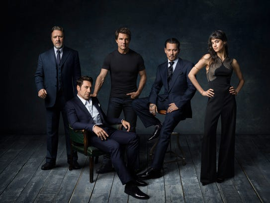 Universal's Dark Universe is kicking off with a talented