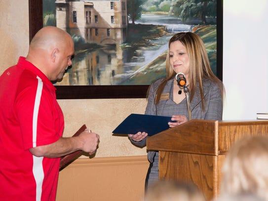 A Senatorial Award was presented to the Samaritan's