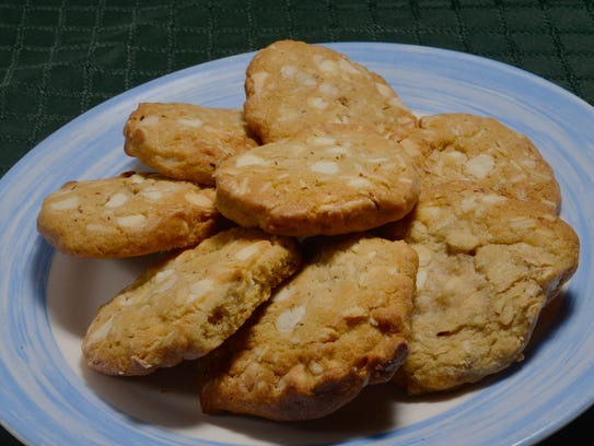Toasted Almond Sables Cookies Recipe — Dishmaps