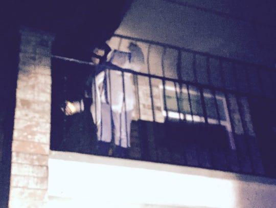 Moorings apartments damage.