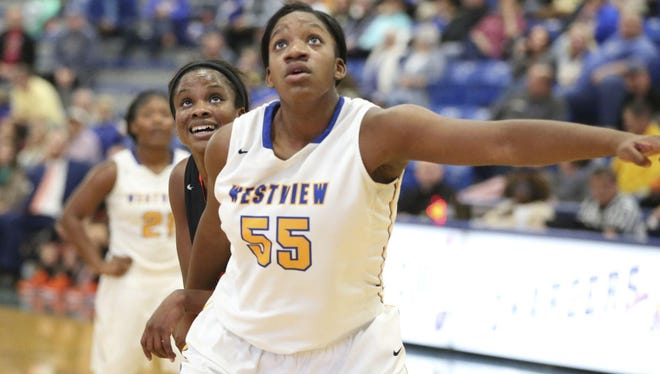 Westview's Deja Graves and the Lady Chargers make the trip down to Middleton on Saturday.