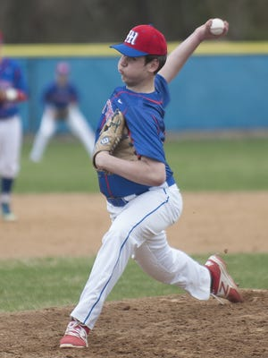 Washington Township freshman Nick Hammer struck out nine and walked one in five innings of no-hit ball Monday against Winslow Township.