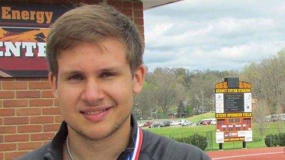 Roberson senior Pete Szelwach.