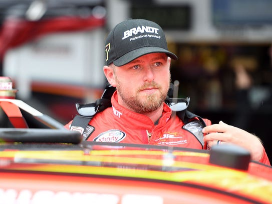 Justin Allgaier is one of just three full-time Xfinity