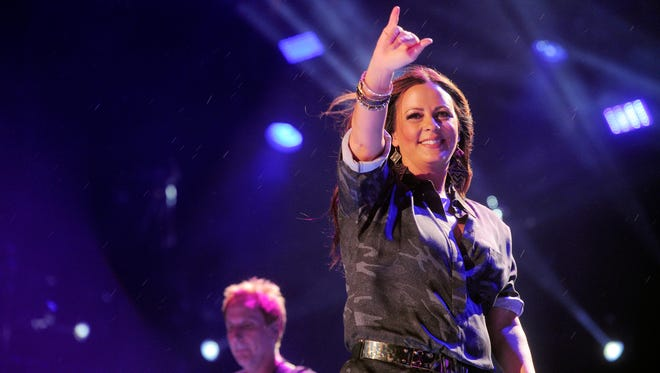 Sara Evans will perform on the AT&T Skyview Stage at Ascend Amphitheater during next week's CMA Music Festival.