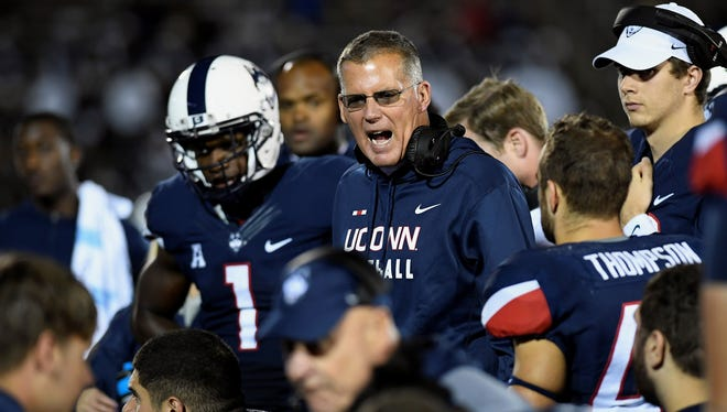 Nearly a year after he was hired, Connecticut head football coach Randy Edsall still hasn't signed a formal contract with the school.