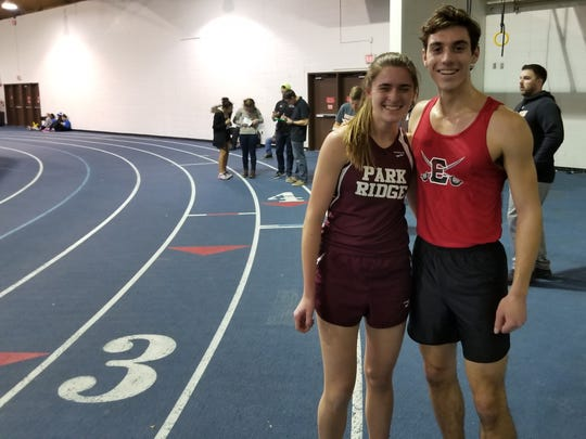 Samantha Green of Park Ridge and Jake Cooper of Emerson