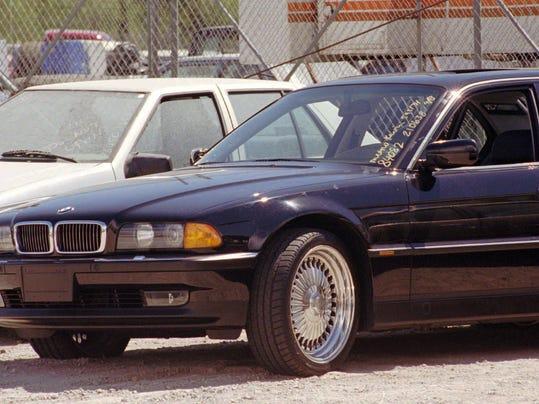 Tupac Shakur Car