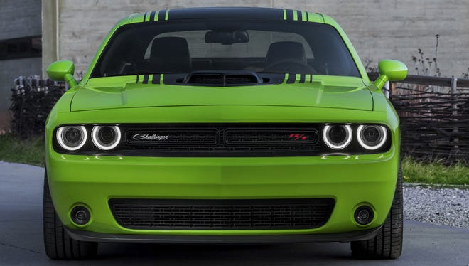 A customized 2015 Dodge Challenger is one of the latest products from Chrysler Group
