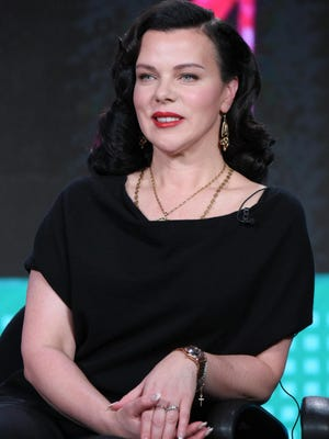 """Debi Mazar, seen during a panel discussion in January, is following her culinary dreams. She and her husband, chef Gabriele Corcos, are working on a possible successor to their award-winning cooking show """"Extra Virgin."""" And they're pursuing opening a culinary school and bed-and-breakfast in Tuscany."""