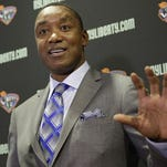 WNBA, Liberty suspend consideration of Isiah Thomas' ownership