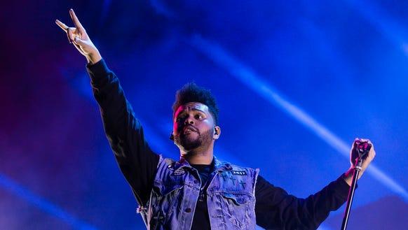The Weeknd's real name is Abel Tesfaye.