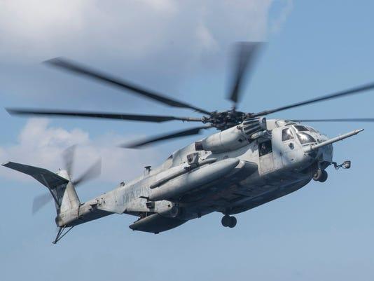 EPA (FILE) USA DEFENSE HELICOPTER CRASH DIS DEFENCE TRANSPORT ACCIDENT ---