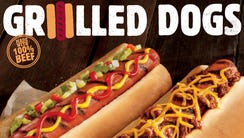 Burger King will roll out two kinds of hot dogs to