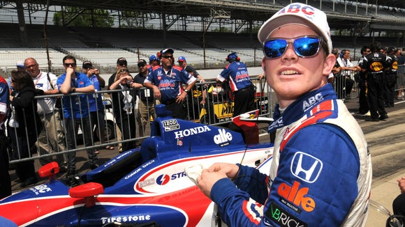 Conor Daly drove for A.J. Foyt Racing in last year's Indianapolis 500