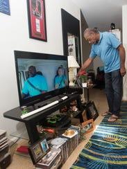 U.S. Marine Billy Gillard got his first apartment in