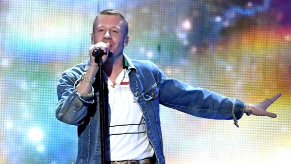 Macklemore shared some of his music.
