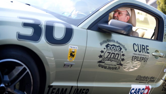 Palmyra resident Glenn Beck loves to get behind the wheel, so road rallies are a natural. Beck is happy to take to the road, but he is more proud of the money he has raised for charity.