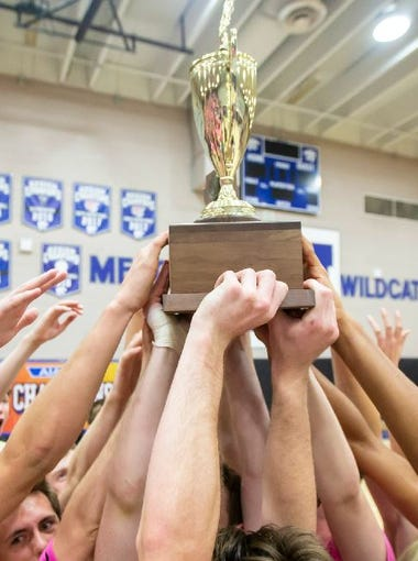 Higley (5A) and Desert Vista (6A) won the boys high school state volleyball titles in 2018.
