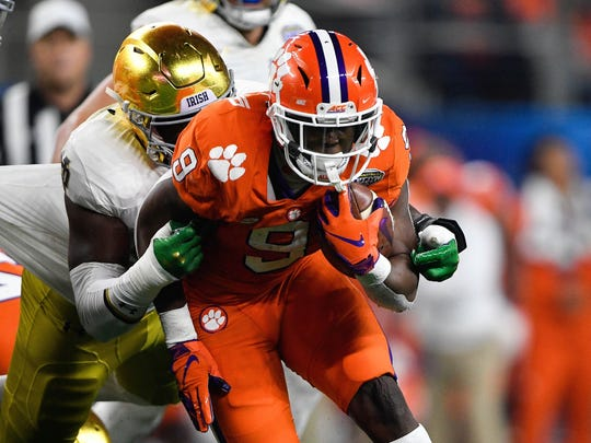 Clemson junior Travis Etienne remains in school despite being eligible for the 2020 NFL Draft.