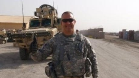 Shane Robbins, superintendent for Mt. Vernon Schools, also serves with Army National Guard. He's been activated to assist with disaster relief after Hurricane Irma.