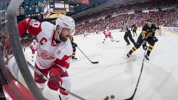 Detroit left wing Henrik Zetterberg shouldered some blame for one of the giveaways in Sunday's 4-1 loss to the Rangers.