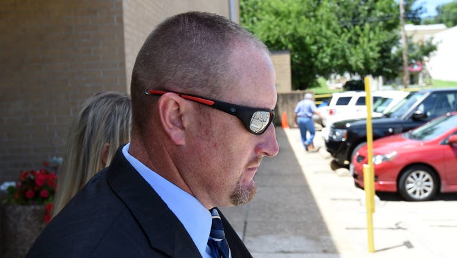 Day 4 of the Daniel Sutterfield federal excessive use of force trial in Harrison opened with the Bull Shoals police chief back on the witness stand.