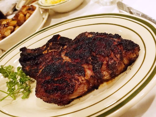 The steaks at Don & Charlie's in Old Town Scottsdale are perfectly seasoned and sizzled to a beautiful char. The prime rib eye is a standout.