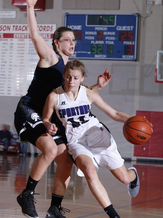 East Lansing vs Battle Creek Lakeview Girls Regional Basketball