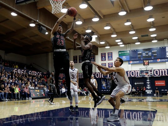 NMSU hangs with No. 21 Saint Mary's, but Gaels pull away ...