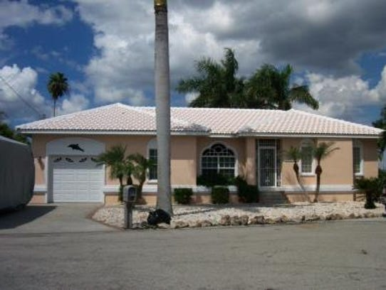This home at 2716 Velma Street in Cape Coral recently