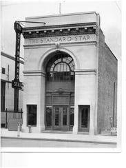 A photo of the Standard Star building, circa 1940,